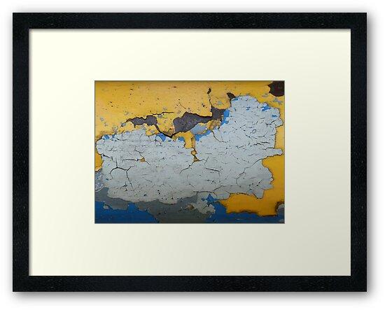 Map Of The World by Graham Geldard