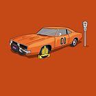 Dukes Of Hazzard Wheel Clamp (General Lee Car) by Creative Spectator