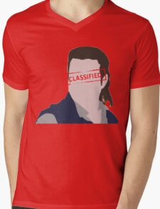 That's Classified Mens V-Neck T-Shirt