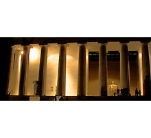 Lincoln Memorial by Night Photographic Print