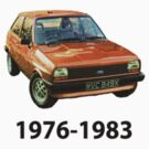 Ford Fiesta Mk1 1976-1983 by Anthony  Poynton