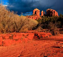 Cathedral Rock Sunset by bengraham