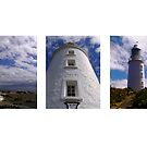 Bruny Lighthouse Triptych by Michelle Ricketts