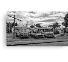Car Yard Canvas Print