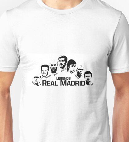 real madrid legends Unisex T-Shirt