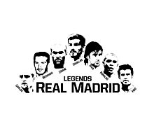 real madrid legends Photographic Print