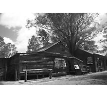 Wool Shearing Shed Photographic Print