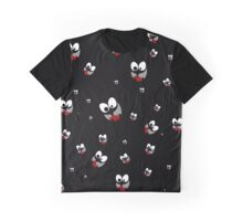 Happy Smiley Eyes Graphic T-Shirt