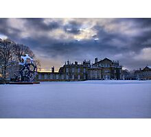 Hall in the Snow Photographic Print