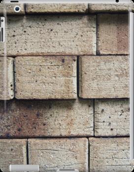 Bricks ipad case by Vanessa Barklay