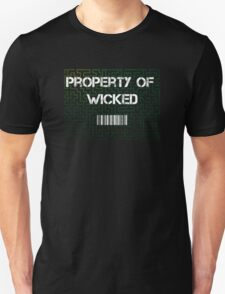 Maze Runner  - property of wicked Unisex T-Shirt