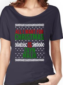 All I Want For Christmas (Zayn Malik) Women's Relaxed Fit T-Shirt