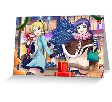 Love Live! School Idol Project - Christmas Shopping Greeting Card