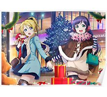 Love Live! School Idol Project - Christmas Shopping Poster