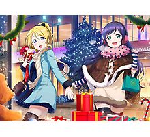 Love Live! School Idol Project - Christmas Shopping Photographic Print