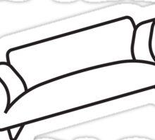 Fly Away On My Sofa Sticker