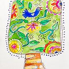 Tree of the Lovebird by ART PRINTS ONLINE         by artist SARA  CATENA