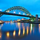 The Tyne Bridge by David  Parkin