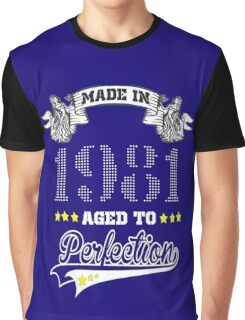 made in 1981-aged to perfection Graphic T-Shirt