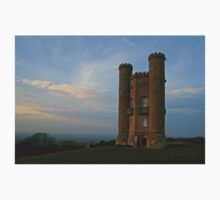 Broadway Tower at Dusk One Piece - Short Sleeve