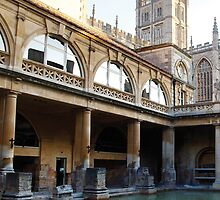 The Great Bath, Bath by beautifulbath