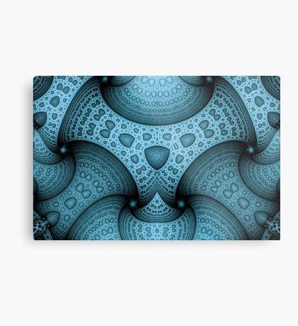 Interlocking Patterns Metal Print