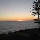 Sunset at Glenelg by Irene Whennan