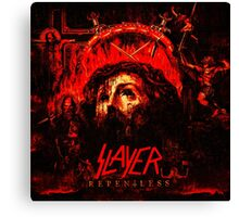 SLAYER REPENLESS Canvas Print
