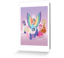 Belly Dancers of Equestria Greeting Card