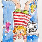 Upside downies by ART PRINTS ONLINE         by artist SARA  CATENA