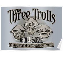 The Three Trolls Poster