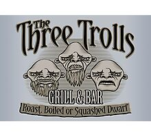 The Three Trolls Photographic Print