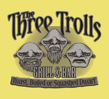 The Three Trolls Kids Clothes