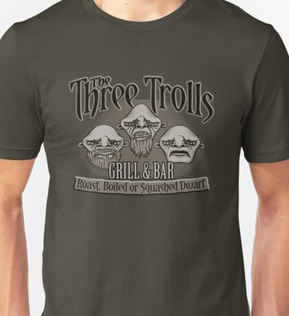 The Three Trolls Unisex T-Shirt