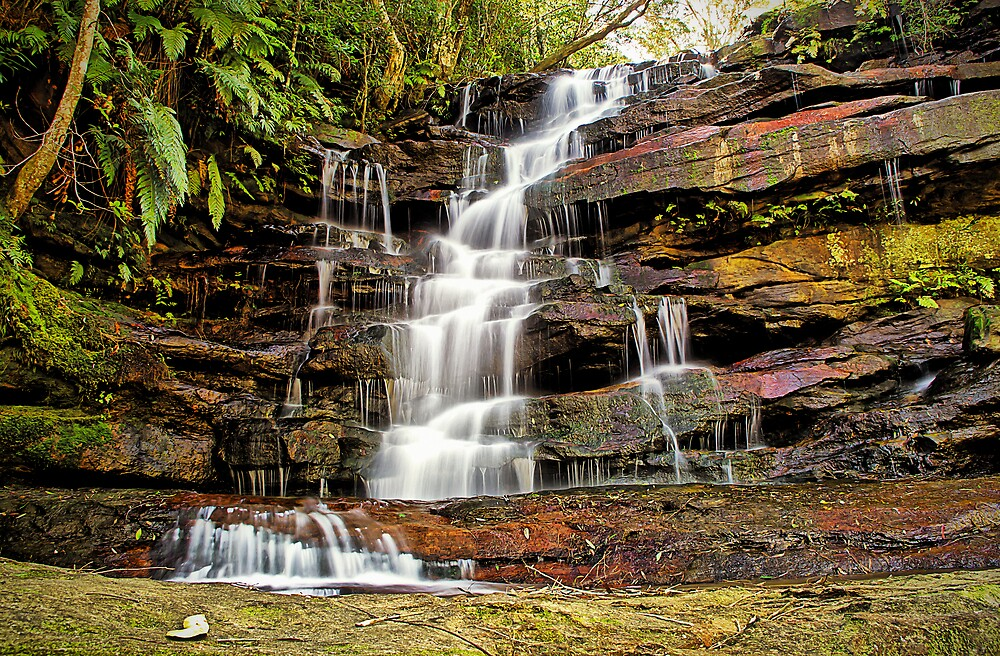Somersby Top Falls - Brisbane Water National Park by TonyCrehan