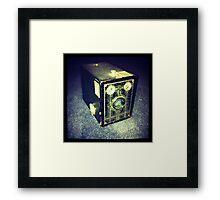 Box Brownie Framed Print