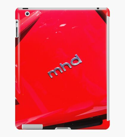 Smart Fortwo mhd Coupe Logo [ Print & iPad / iPod / iPhone Case ] iPad Case/Skin