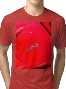 Smart Fortwo mhd Coupe Logo [ Print & iPad / iPod / iPhone Case ] Tri-blend T-Shirt