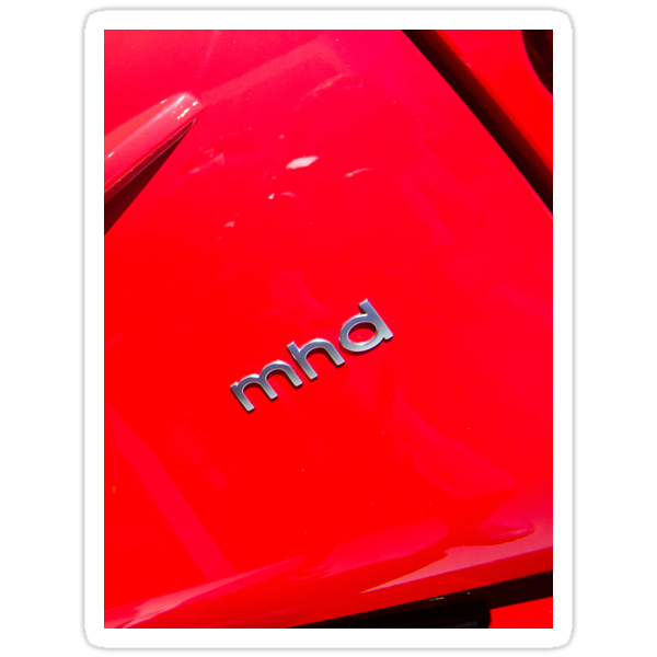 Smart Fortwo mhd Coupe Logo [ Print & iPad / iPod / iPhone Case ] by Mauricio Santana