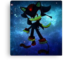 Shadow the Hedgehog Canvas Print