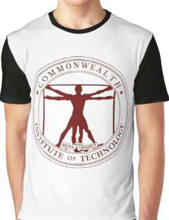 Commonwealth Institute of Technology - Maroon Graphic T-Shirt