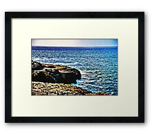 A Thousand Tides May Rise And Fall Framed Print