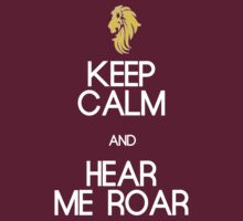 KEEP HOUSE LANNISTER CALM by amanoxford