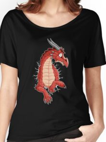 STUCK - Red Dragon Women's Relaxed Fit T-Shirt