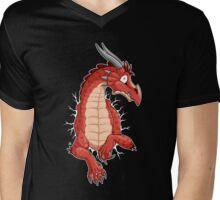 STUCK - Red Dragon Mens V-Neck T-Shirt