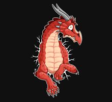 STUCK - Red Dragon Mens V-Neck T-Shirt