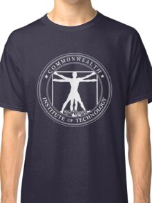 Commonwealth Institute of Technology - White Classic T-Shirt