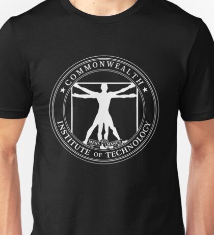Commonwealth Institute of Technology - White Unisex T-Shirt