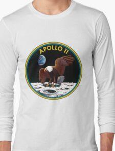 Apollo 11 Mission Logo Long Sleeve T-Shirt