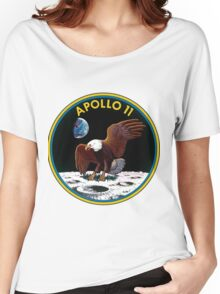 Apollo 11 Mission Logo Women's Relaxed Fit T-Shirt